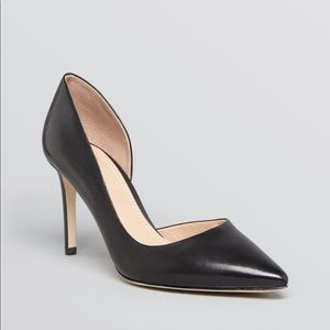 Tory Burch Classic Black Pointed Toe D'Orsay 8.5